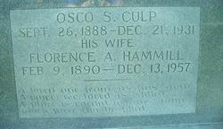 Osco Sylvester Culp