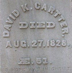 David Kellogg Cartter