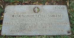PFC Alan Milton Smith