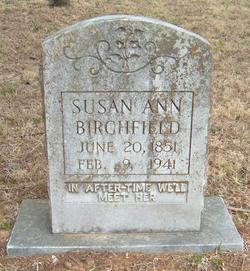 Susan Ann <i>Myatt</i> Birchfield