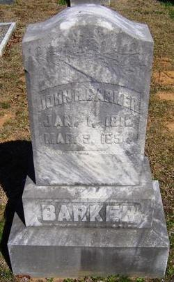 John R Barker