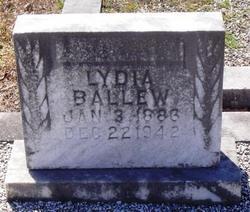Lydia Ballew
