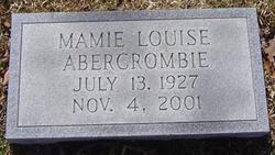 Mamie Louise Abercrombie