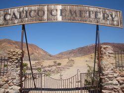 Calico Cemetery