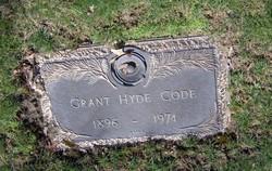 Grant Hyde Code, Sr