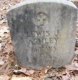 Pvt Lewis J Ashley