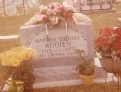 Martha Lucille <i>Brooks</i> Wooten