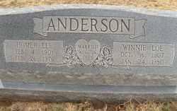 Winne <i>Loe</i> Anderson