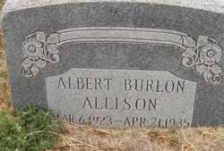 Albert Burlon Allison