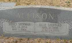 Ollie Mae <i>Sheppard</i> Allison
