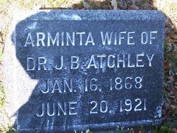 Arminta <i>Hensley</i> Atchley