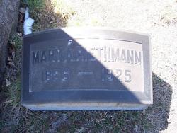 Mary <i>Yeisley</i> Riethmann