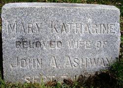 Mary Katharine <i>Lawyer</i> Ashway