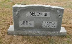 John F Bruewer