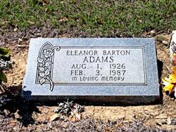 Eleanor <i>Barton</i> Adams