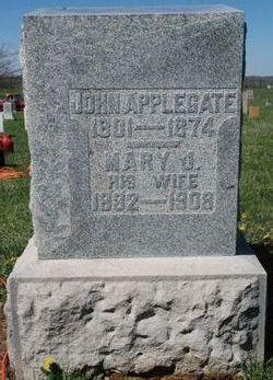 Mary J <i>Carter</i> Applegate