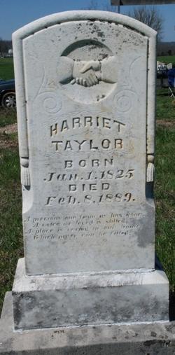 Harriet <i>Applegate</i> Taylor