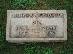 Paul T Einfalt