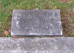Nan Allen <i>Dobyns</i> Adams