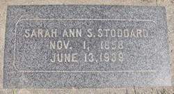 Sarah Ann <i>Steed</i> Stoddard