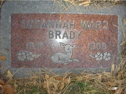 Susannah <i>Ward</i> Brady