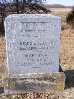 Martha Ann <i>Denham</i> Adams