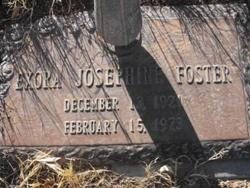 Exora Josephine <i>Hill</i> Foster