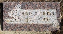 Doris Bonita <i>Kelly</i> Brown