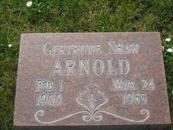 Gertrude <i>Shaw</i> Arnold