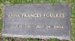 Anna Frances <i>Schnee</i> Foulkes