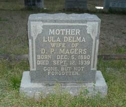 Lula Delma <i>Maxwell</i> Magers