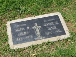 Marie M. Adams