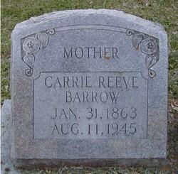 Carrie <i>Reeve</i> Barrow