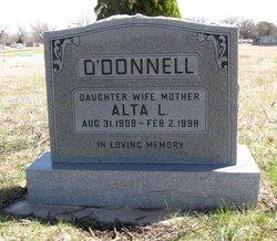 Alta Lucille <i>Hammer</i> O'Donnell
