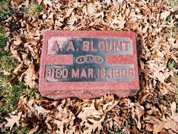 Alexander Augustus Blount