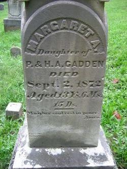 Margaret A Cadden
