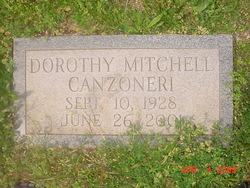 Dorothy <i>Mitchell</i> Canzoneri