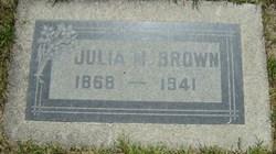Julia M <i>Flynn</i> Brown