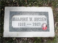 Marjorie <i>Winegar</i> Bogden