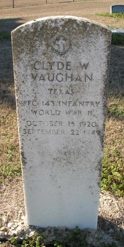 Clyde W Vaughan