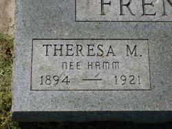 Theresa M. <i>Hamm</i> French