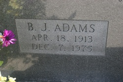 B J Adams