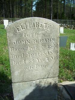 Elizabeth Betsy <i>Barrier</i> Hahn