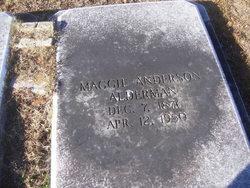 Margaret Maggie <i>Anderson</i> Alderman