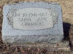 Carol June Chambers