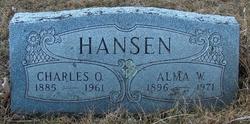 Alma W. <i>Karstedt</i> Hansen