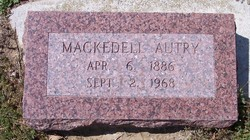 Mackedell <i>Morris</i> Autry