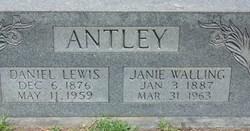 Janie <i>Walling</i> Antley
