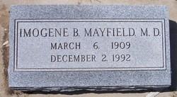 Dr Imogene B. <i>Butts</i> Mayfield