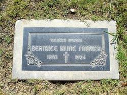 Beatrice <i>Kline</i> Fawver